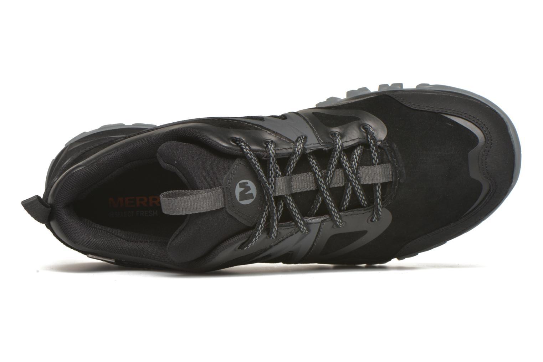 Sportschuhe Merrell Capra Bolt Leather Waterproof schwarz ansicht von links