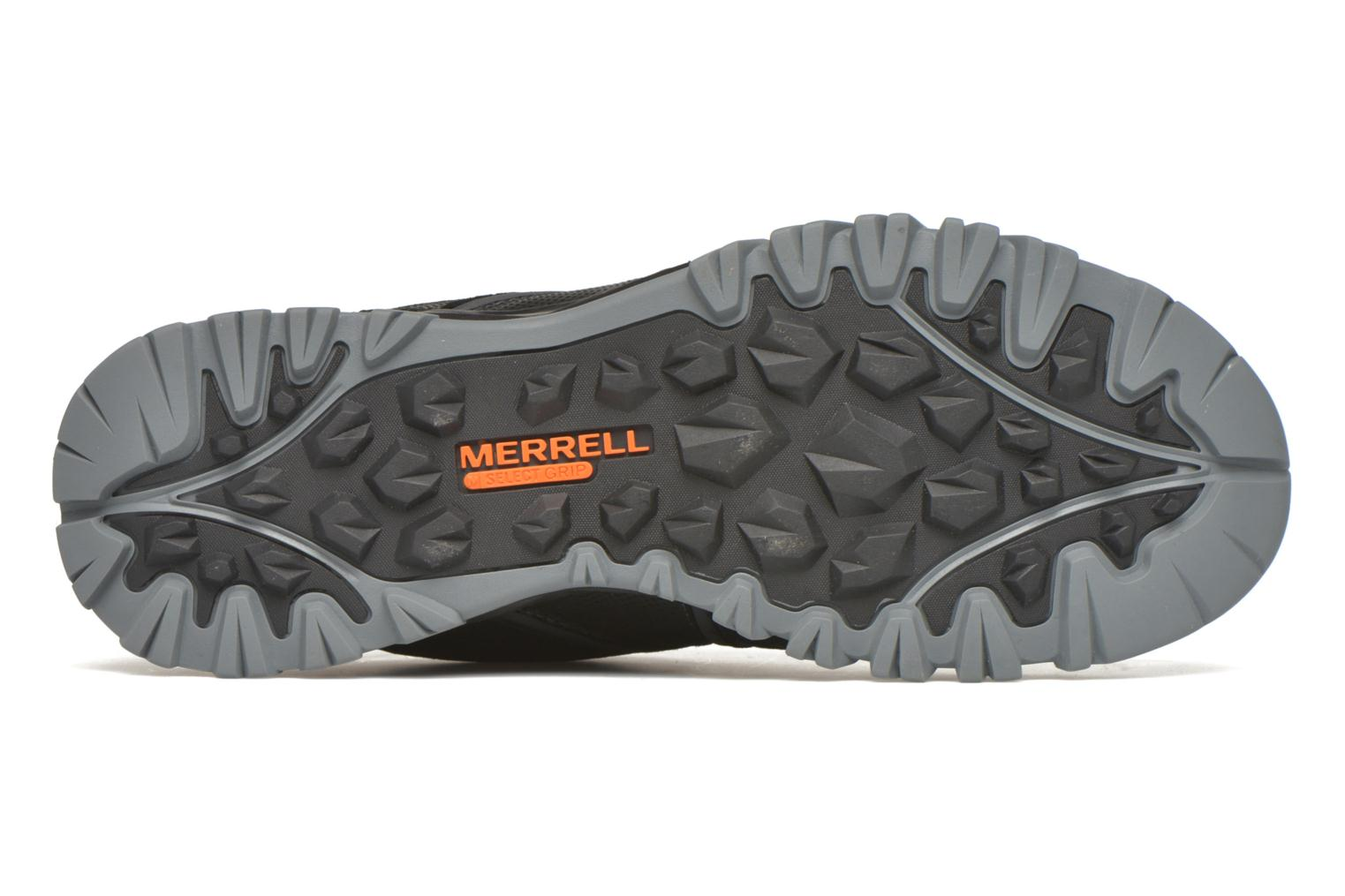 Chaussures de sport Merrell Capra Bolt Leather Waterproof Noir vue haut