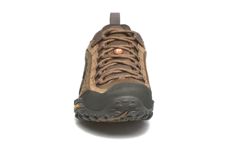 Chaussures de sport Merrell Intercept Marron vue portées chaussures