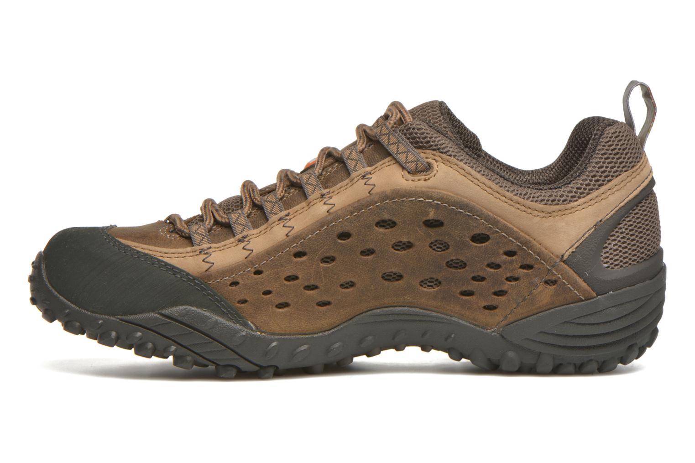 Chaussures de sport Merrell Intercept Marron vue face