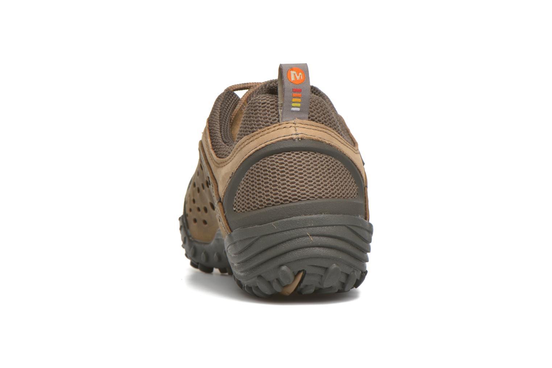 Chaussures de sport Merrell Intercept Marron vue droite