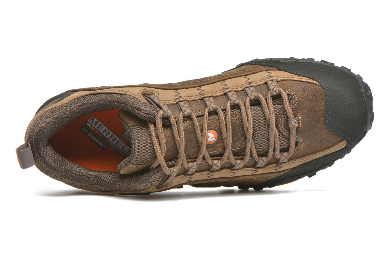 Chaussures de sport Merrell Intercept Marron vue gauche
