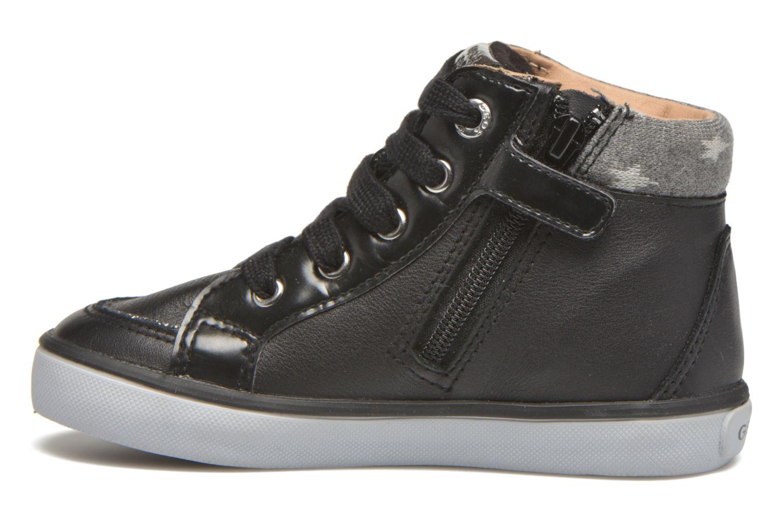 Sneaker Geox B Kiwi Girl B54D5E schwarz ansicht von vorne