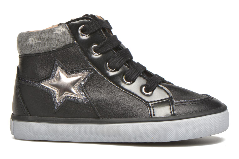 Sneaker Geox B Kiwi Girl B54D5E schwarz ansicht von hinten