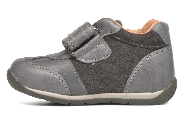 Schoenen met klitteband Geox B Each Boy B540BD Grijs voorkant