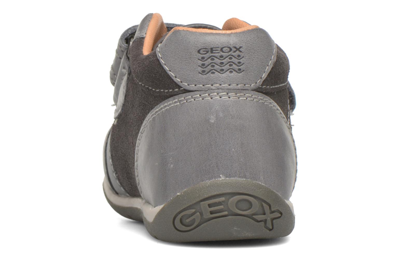 Schoenen met klitteband Geox B Each Boy B540BD Grijs rechts