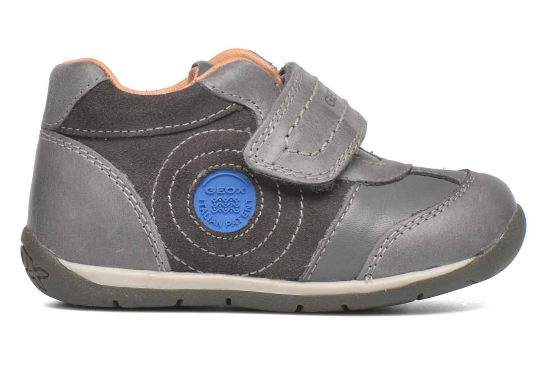 Schoenen met klitteband Geox B Each Boy B540BD Grijs achterkant