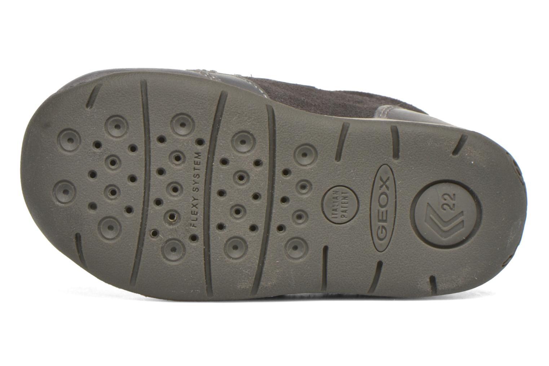 Chaussures à scratch Geox B Each Boy B540BD Gris vue haut