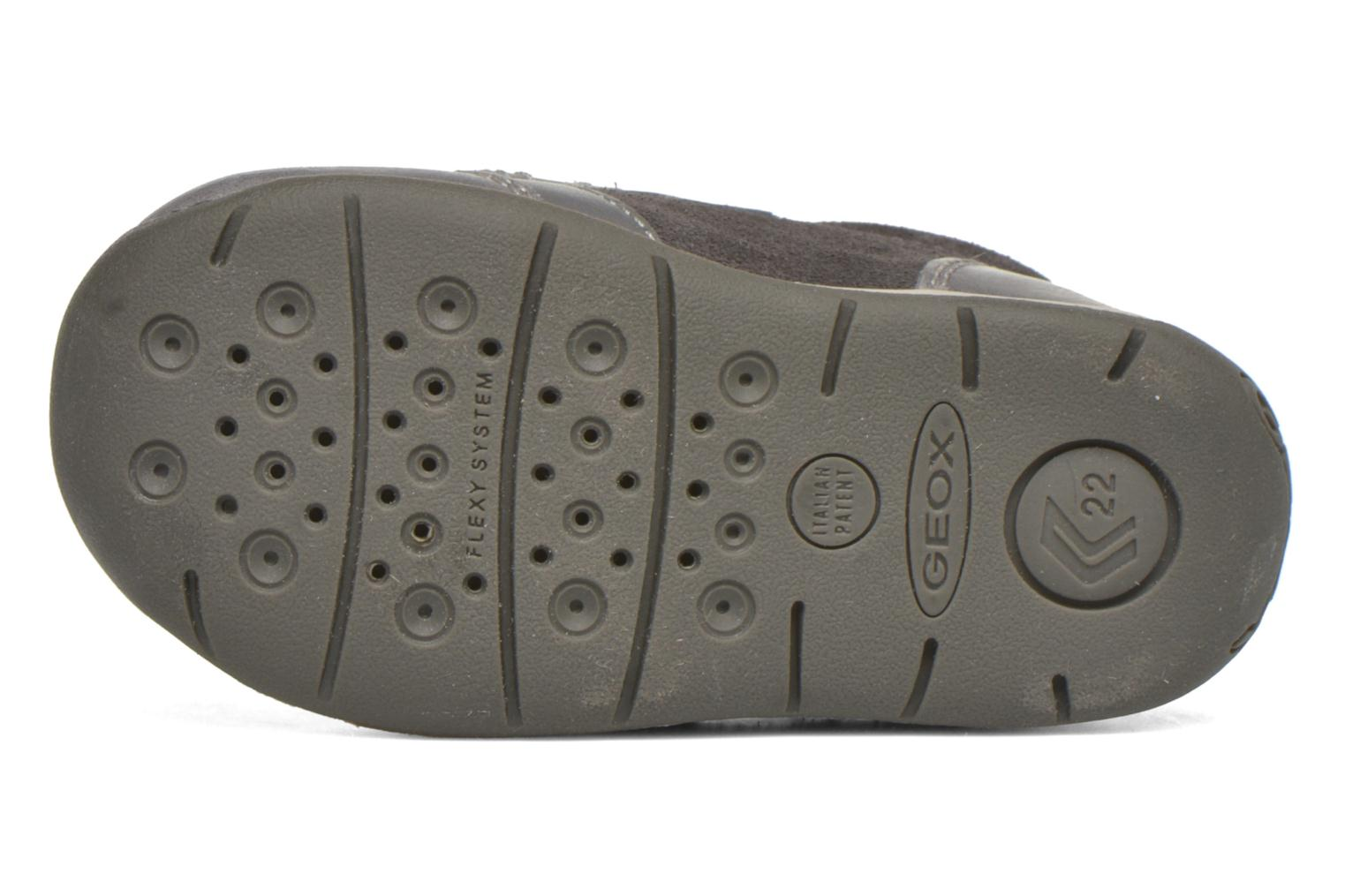 Velcro shoes Geox B Each Boy B540BD Grey view from above