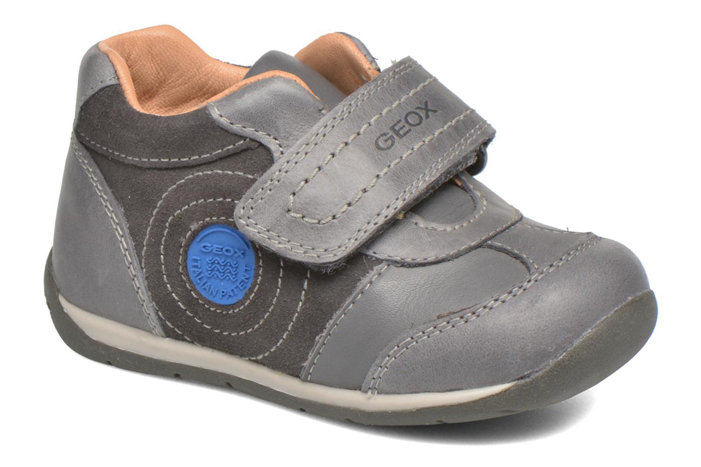 Velcro shoes Geox B Each Boy B540BD Grey detailed view/ Pair view
