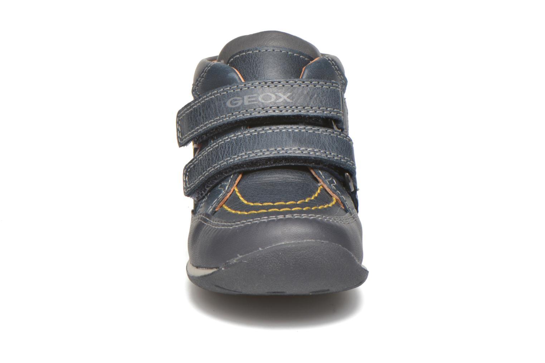 Sneaker Geox B Each Boy B540BB blau schuhe getragen