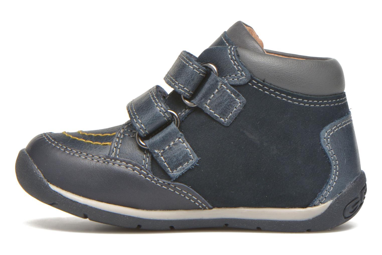 Sneaker Geox B Each Boy B540BB blau ansicht von vorne