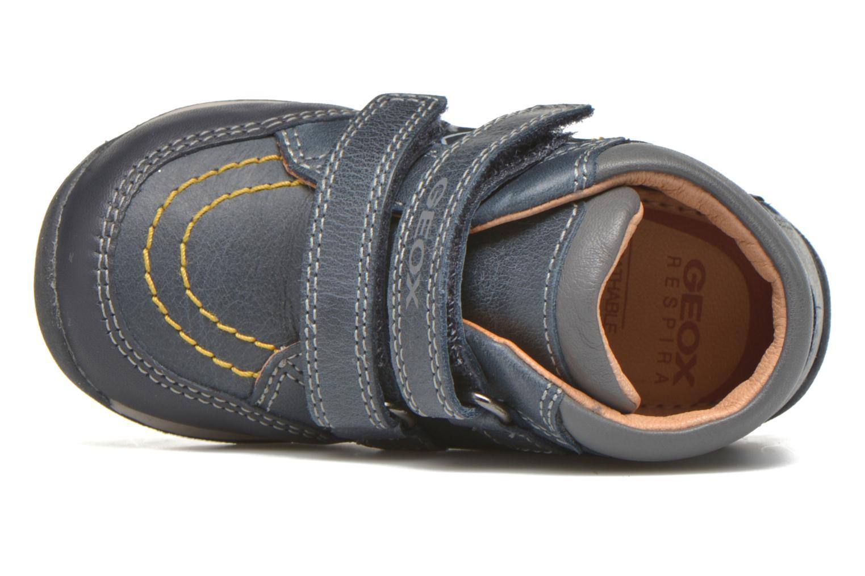 Sneaker Geox B Each Boy B540BB blau ansicht von links