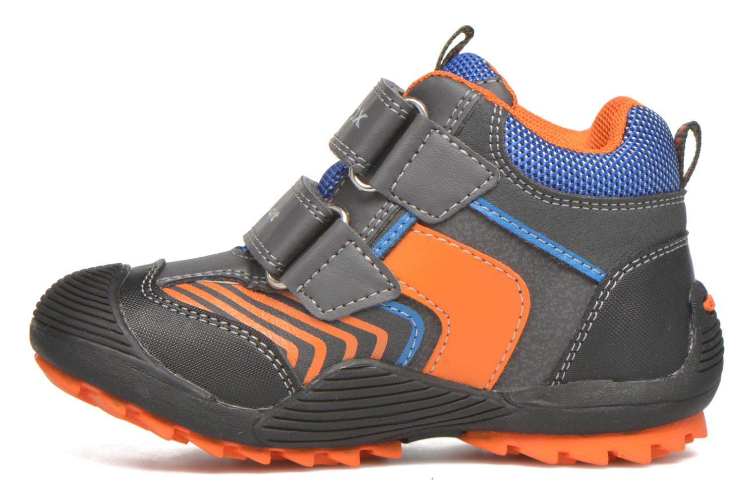 Ankle boots Geox B Savage B ABX B540CA Grey front view