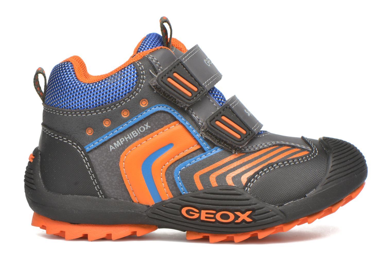 Stiefeletten & Boots Geox B Savage B ABX B540CA grau ansicht von hinten
