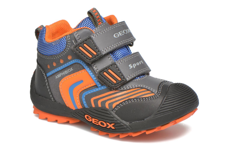 Boots en enkellaarsjes Geox B Savage B ABX B540CA Grijs detail