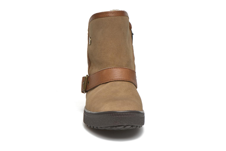 Bottines et boots Geox D Amaranth B ABX D44Z4A Marron vue portées chaussures