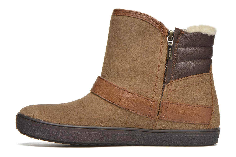 Stiefeletten & Boots Geox D Amaranth B ABX D44Z4A braun ansicht von vorne