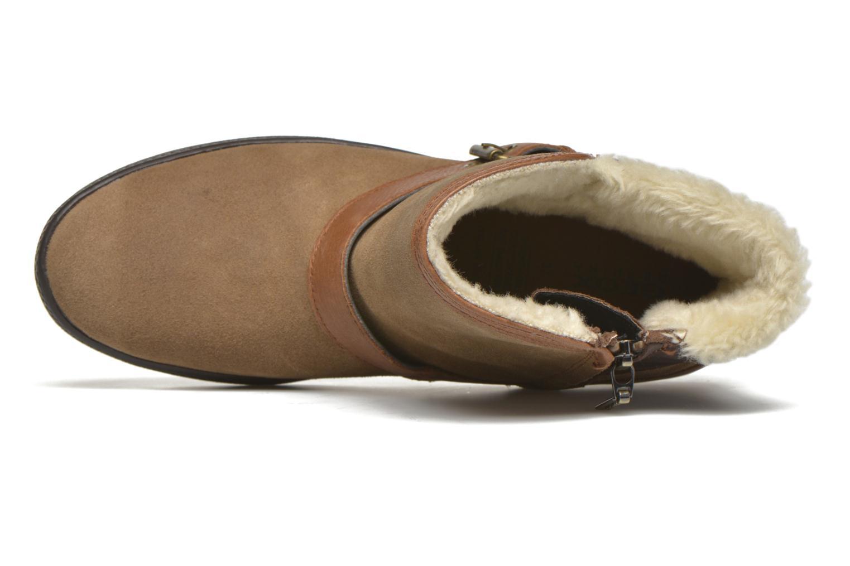 Stiefeletten & Boots Geox D Amaranth B ABX D44Z4A braun ansicht von links