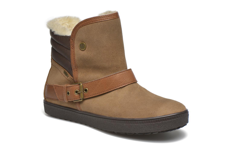 Bottines et boots Geox D Amaranth B ABX D44Z4A Marron vue détail/paire