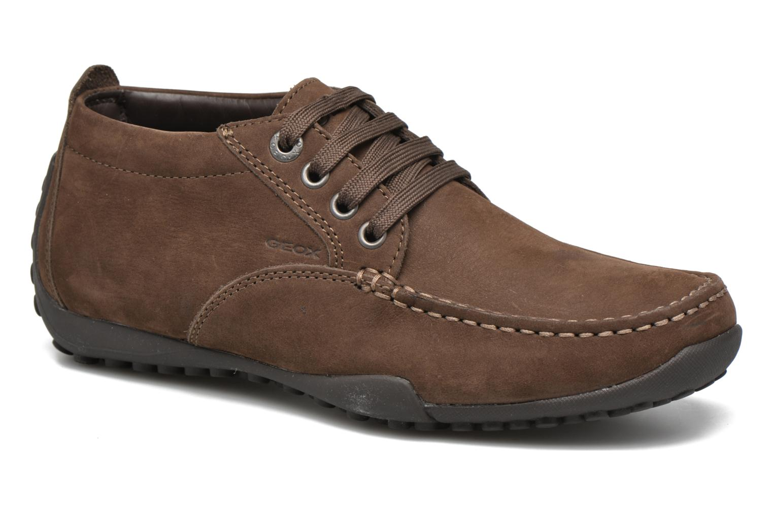 Geox UOMO SNAKE - Trainers - brown nuTJXD00