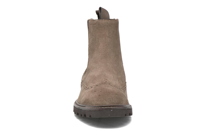 Bottines et boots Geox U New Igor U54P6G Gris vue portées chaussures