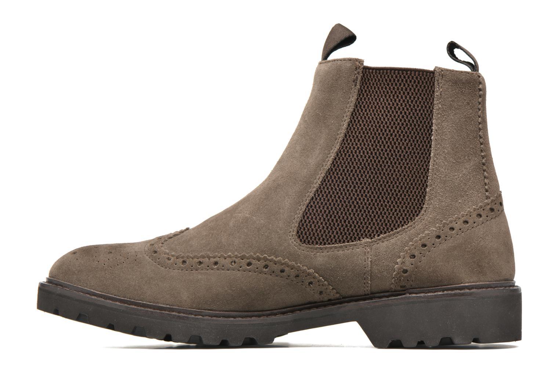Bottines et boots Geox U New Igor U54P6G Gris vue face