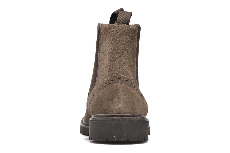 Bottines et boots Geox U New Igor U54P6G Gris vue droite