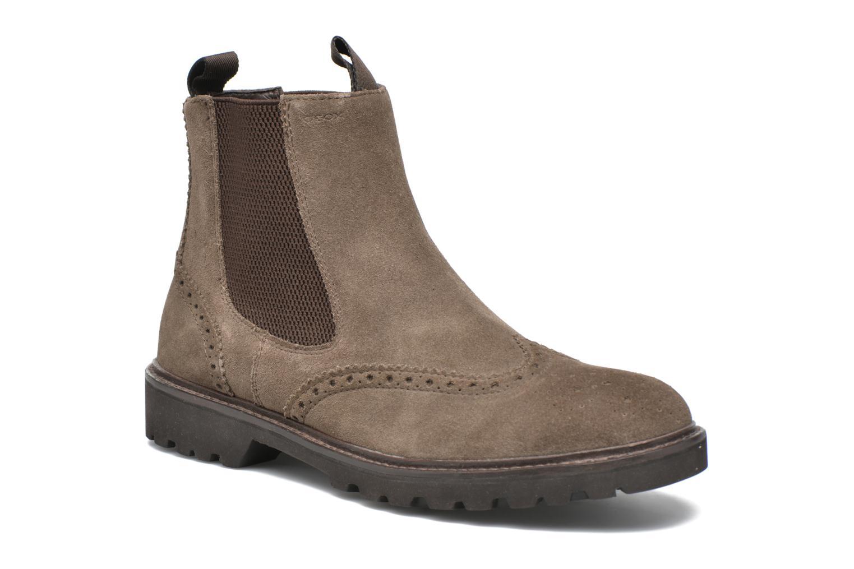 Bottines et boots Geox U New Igor U54P6G Gris vue détail/paire