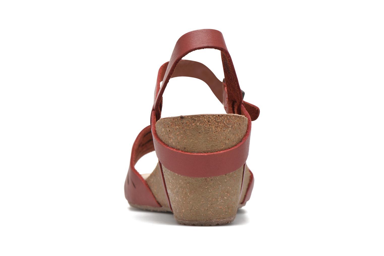 Sandali e scarpe aperte TBS Riffah Rosso immagine destra
