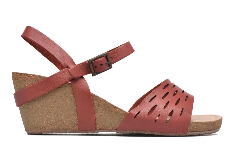 Sandals TBS Riffah Red back view