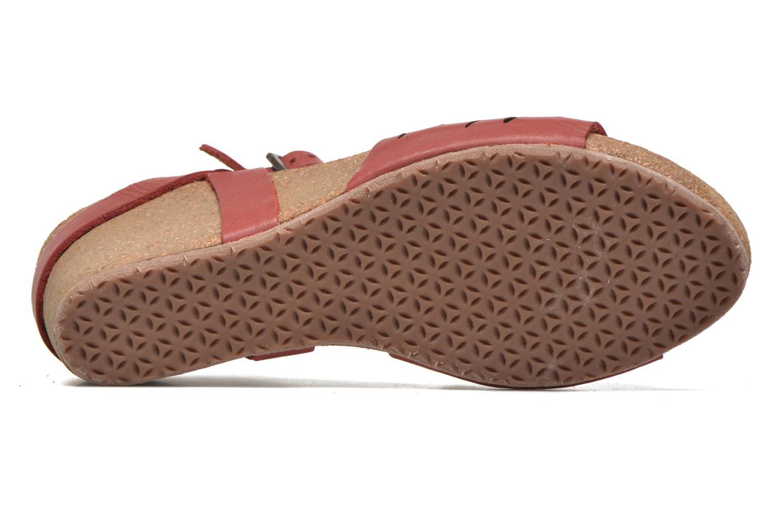 Sandali e scarpe aperte TBS Riffah Rosso immagine dall'alto