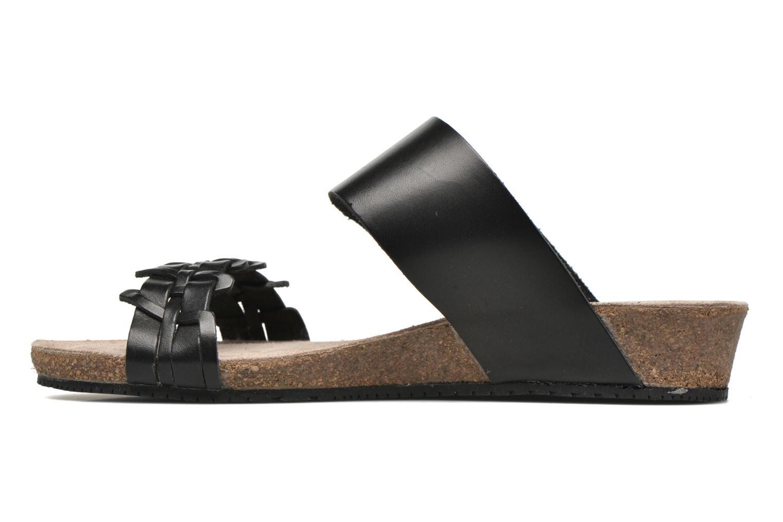 Sandales et nu-pieds TBS Kazuno Noir vue face