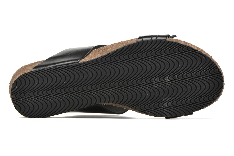 Sandales et nu-pieds TBS Kazuno Noir vue haut