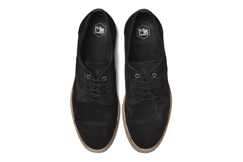 Zapatos con cordones Mr SARENZA Steamer Negro vista del modelo