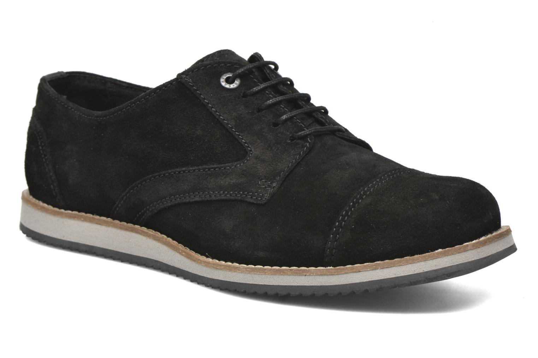 Zapatos con cordones Mr SARENZA Steamer Negro vista lateral derecha