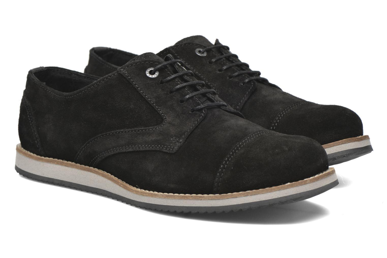 Zapatos con cordones Mr SARENZA Steamer Negro vistra trasera