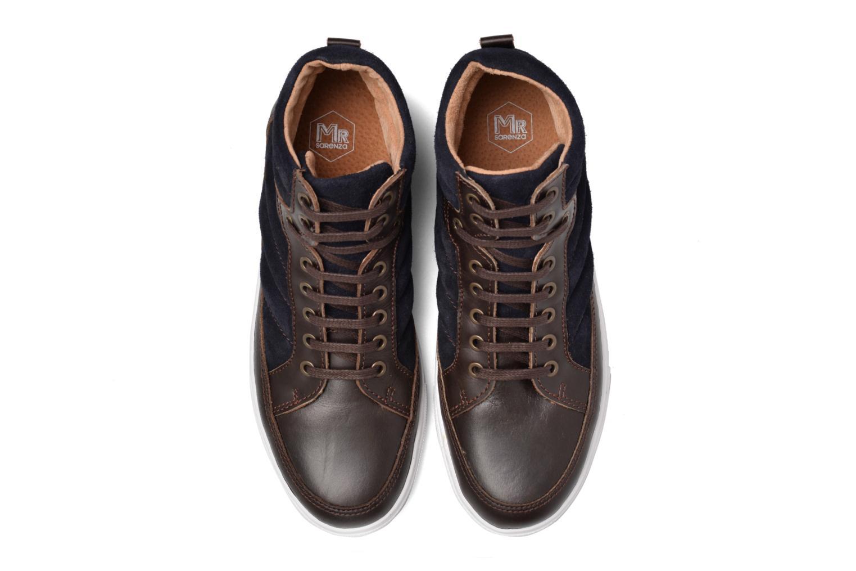 Baskets Mr SARENZA Stryges Bleu vue portées chaussures