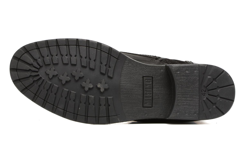 Bottines et boots Mustang shoes Mikaï Noir vue haut