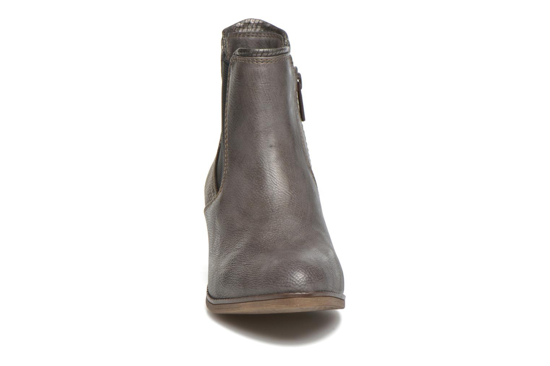 Stiefeletten & Boots Mustang shoes Mustea grau schuhe getragen