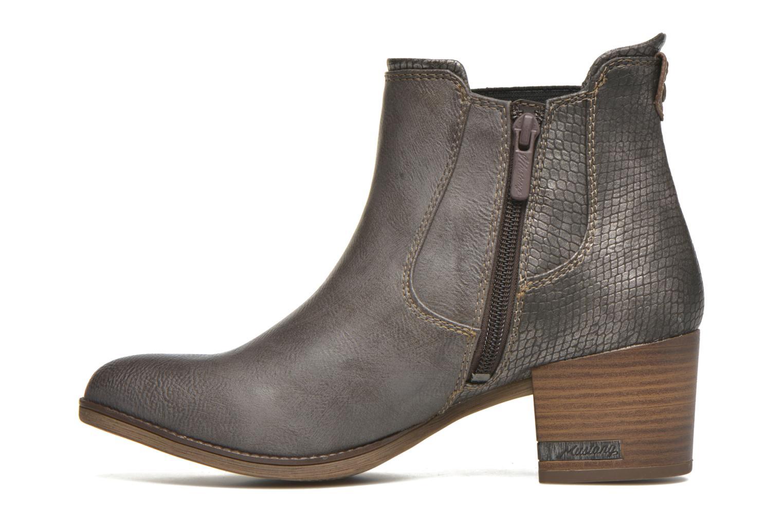 Stiefeletten & Boots Mustang shoes Mustea grau ansicht von vorne