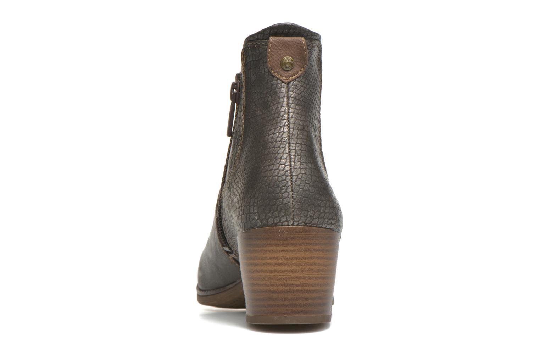 Stiefeletten & Boots Mustang shoes Mustea grau ansicht von rechts