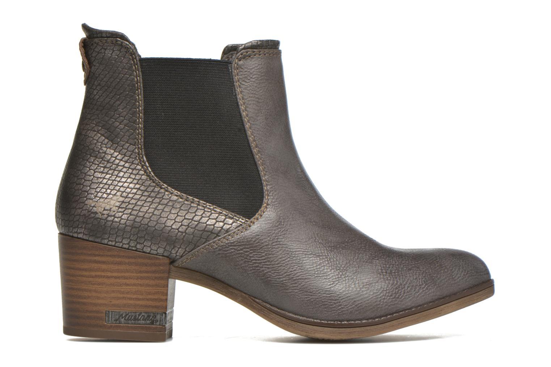 Stiefeletten & Boots Mustang shoes Mustea grau ansicht von hinten