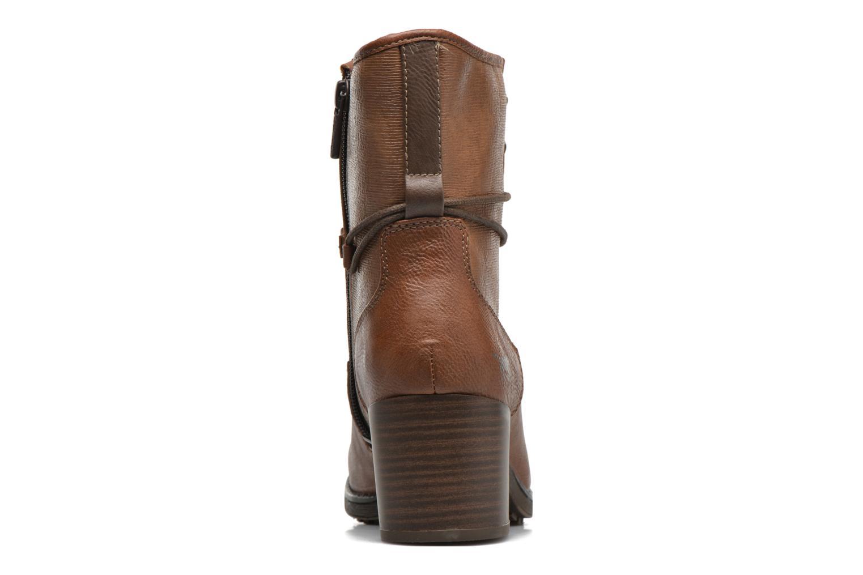 Bottines et boots Mustang shoes Muasta Marron vue droite