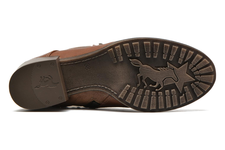 Bottines et boots Mustang shoes Muasta Marron vue haut