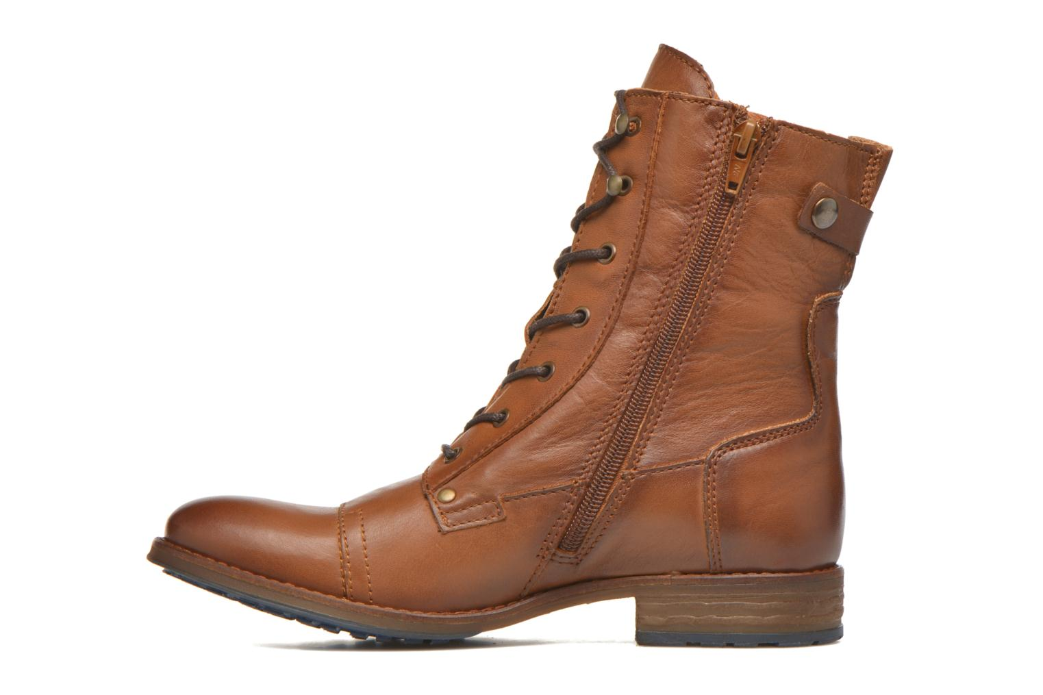 Ankle boots Mustang shoes Munie Brown front view