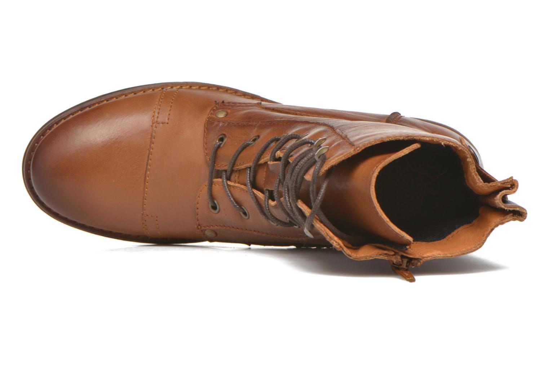 Bottines et boots Mustang shoes Munie Marron vue gauche