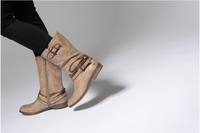 Boots en enkellaarsjes Mustang shoes Mupe Bruin onder