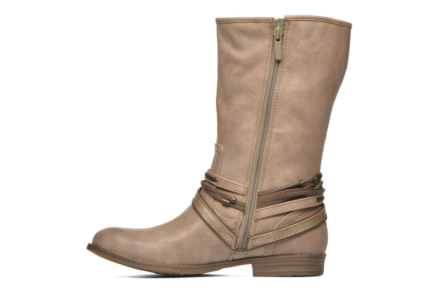 Ankle boots Mustang shoes Mupe Brown front view