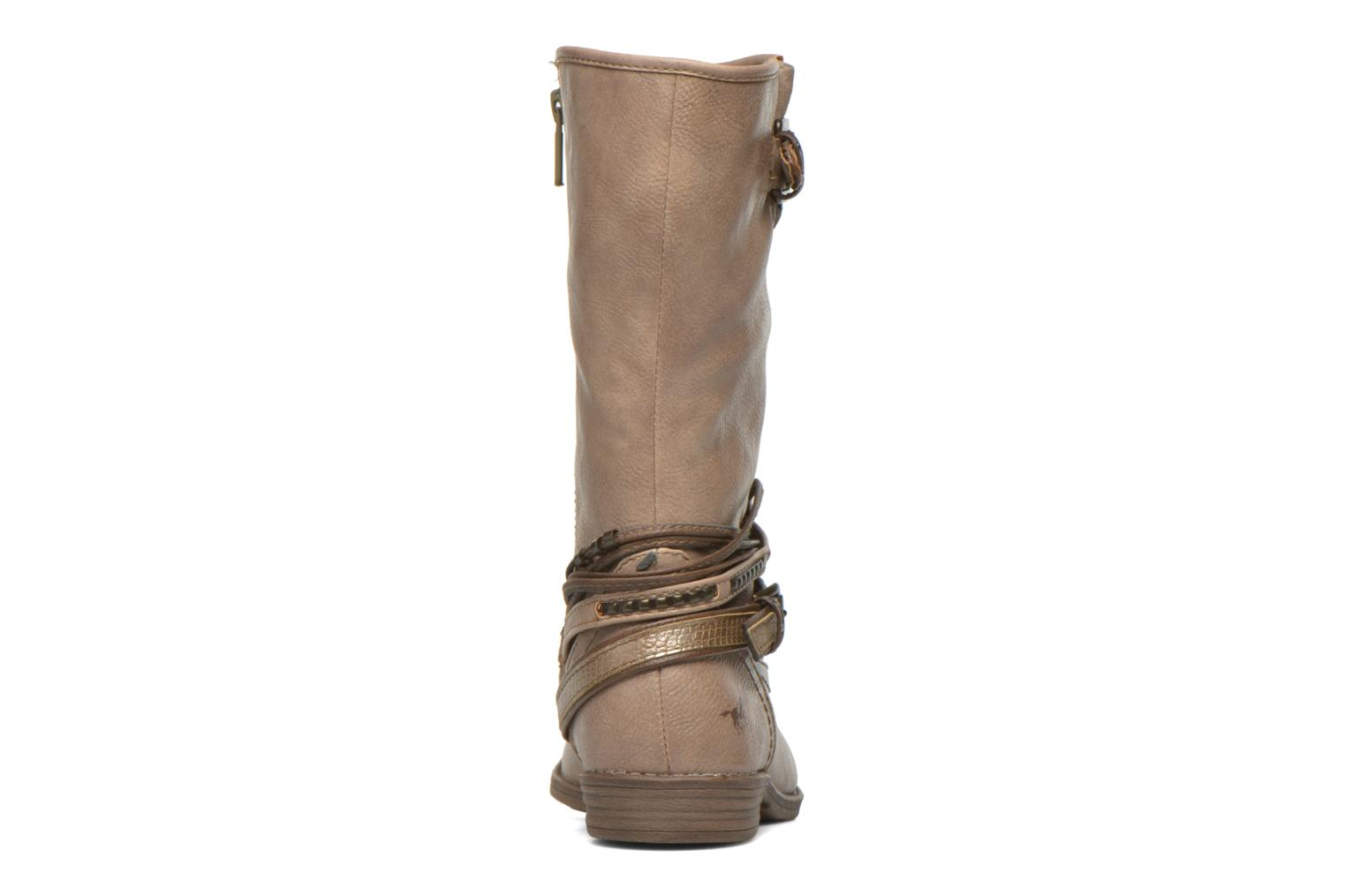 Ankle boots Mustang shoes Mupe Brown view from the right